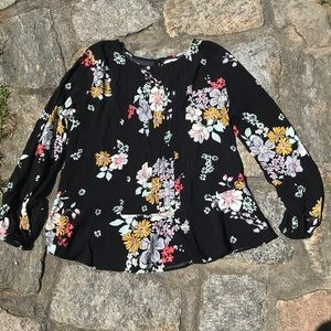 OLD NAVY floral blouse